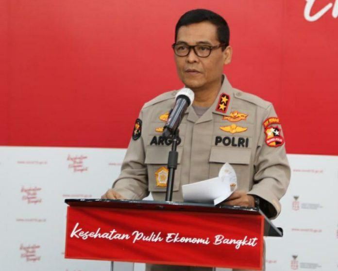 Kepala Divisi Humas Polri Irjen Argo Yuwono.
