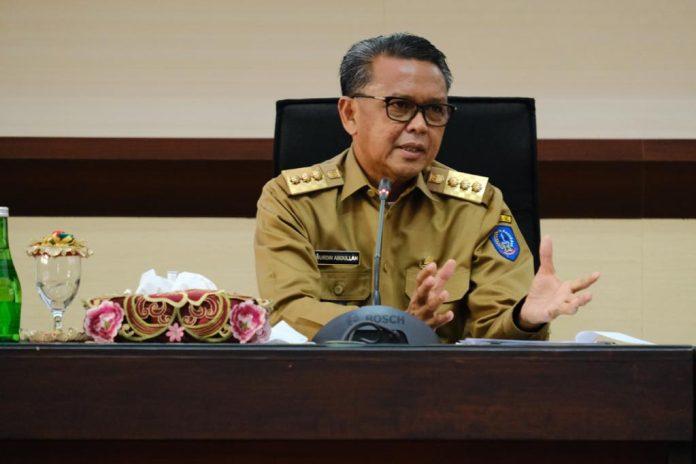 Gubernur Sulsel, Nurdin Abdullah.