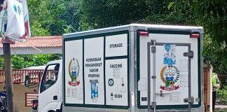 Mobil Box Pengangkut Vaksin Sinovac Covid-19