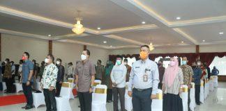 Peserta Musrenbang Tingkat Kecamatan Patuhi Prokes Covid-19