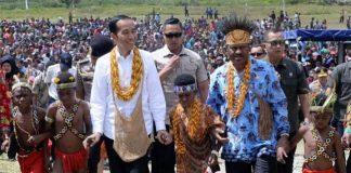 Para kepala suku yang tergabung dalam RKPT (Rukun Keluarga Pegunungan Tengah) Kabupaten Keerom, Papua menyatakan dukungan untuk keberlangsungan Otsus