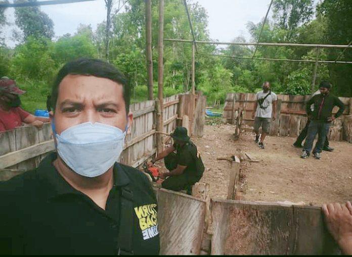 Kapolsek Gantarang, Kompol Abdul Jalil Sirajuddin