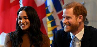 Pangeran Harry dan Meghan Markle di London, Inggris, Selasa (7/1/2020). Foto Antara/Pool via REUTERS/Daniel Leal-Olivas
